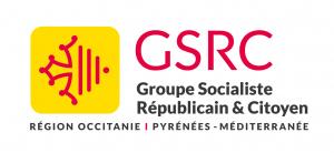 Logo Groupe Socialiste Républicain et Citoyen - Région Occitanie Pyrénées Méditéranée