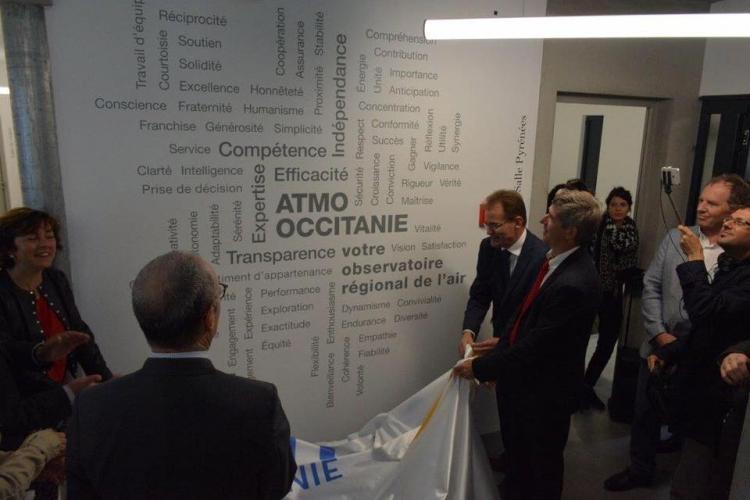 Inauguration de l'ATMO
