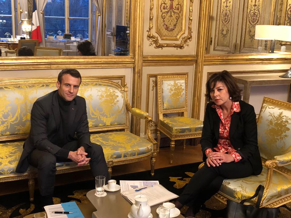 CP Région – Carole Delga a rencontré le président de la République