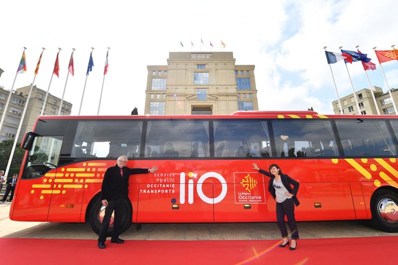 Le nouveau réseau régional des transports publics d'Occitanie